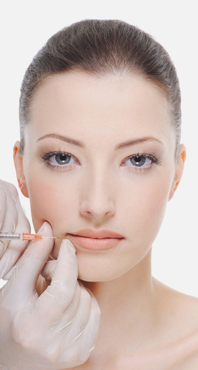 Tratamiento de arrugas con ácido hialurónico